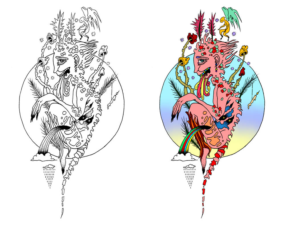 Tattoo Design By Kyuubi Overrated On Deviantart