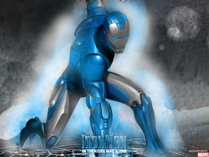 Iron Man: Blue and Silver