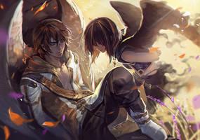 Sleeping prince by AkiZero1510