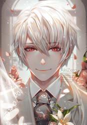 [Walking down the aisle] Zen by AkiZero1510