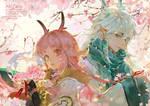 Ten miles of cherry blossoms by AkiZero1510