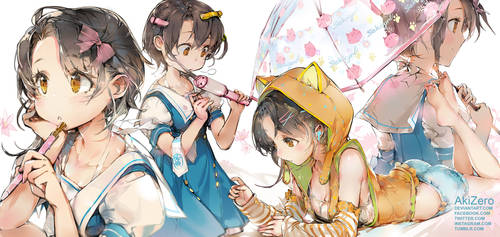 An AZUKI's day by AkiZero1510