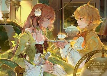 Morning tea by AkiZero1510