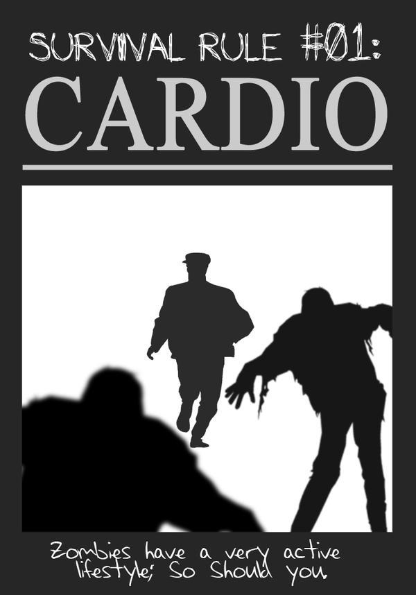 Zombieland Rule 1 Cardio By Theenderling On Deviantart