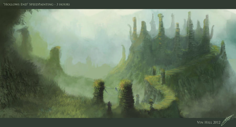 Hollows End Speed Paint by TheEnderling