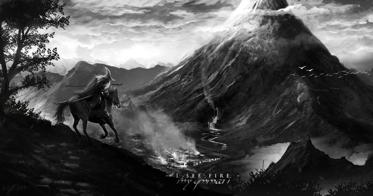 I See Fire - Erebor by TheEnderling