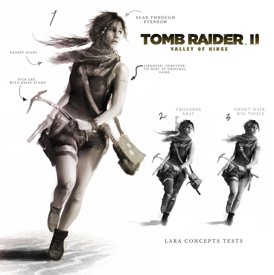 Wallpaper Lara Croft Shadow Of The Tomb Raider Concept: Tomb Raider 2: Valley Of The Kings. Lara Concept By