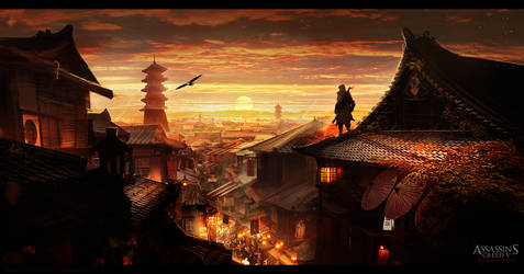 Assassin's Creed 5: Rising Sun Kyoto Environment