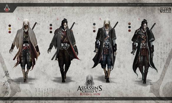 Assassin's Creed 5: Rising Sun - Assassin Variants