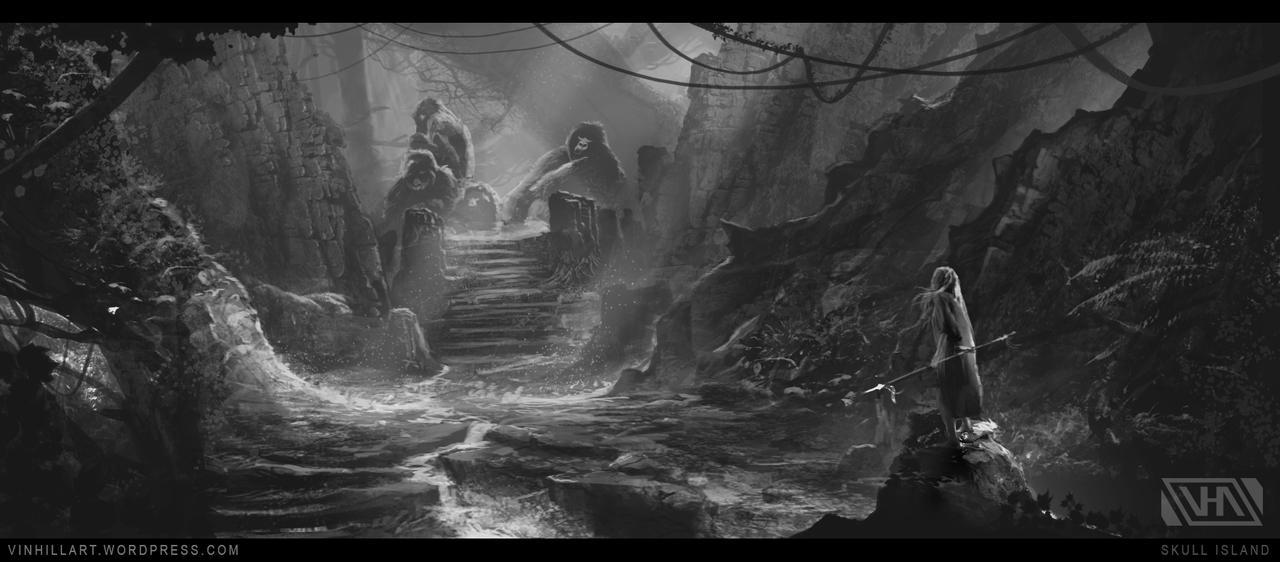 Skull Island Origins Concept Art by TheEnderling