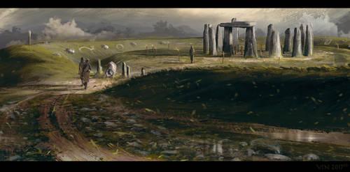 British Neolithic Monument - 3000BC