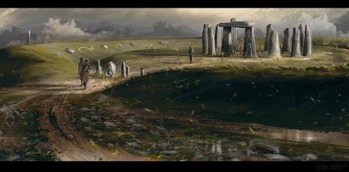 British Neolithic Monument - 3000BC