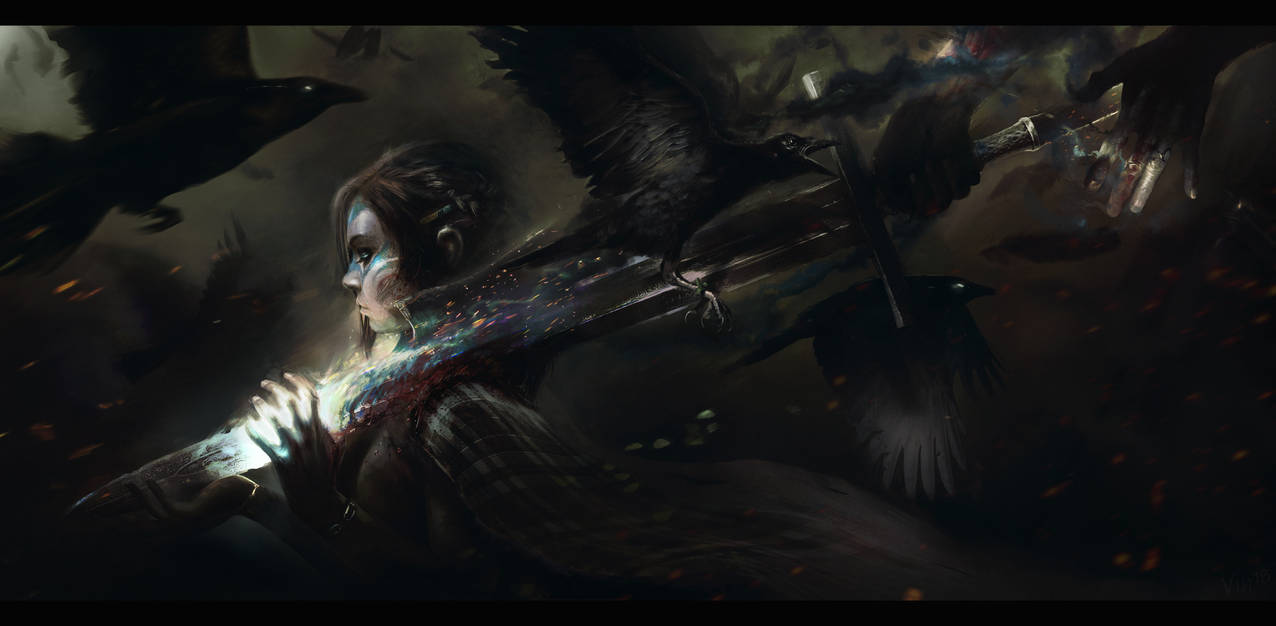 The Last Morrigan by TheEnderling