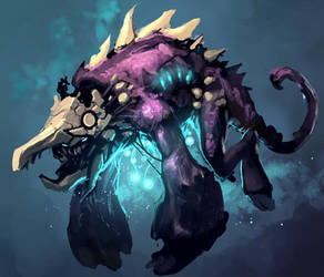 monster gembel by Reza-ilyasa