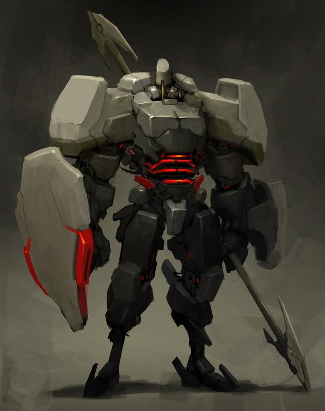 ICHIDO Heavy armor guard by Reza-ilyasa