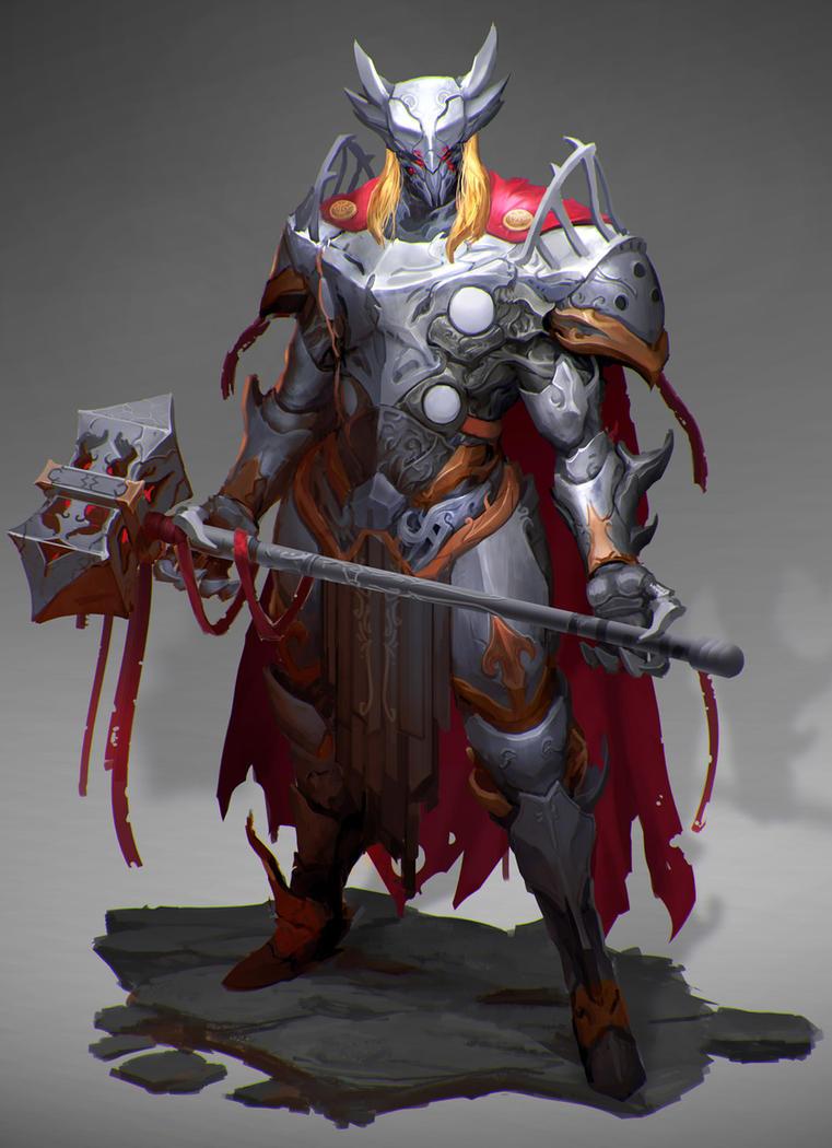 Thor by Reza-ilyasa
