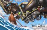 Art of Joel Chua: Train Angel