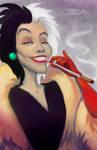 Cruella de Vil by JoelChua