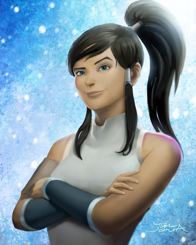 Avatar Korra by JoelChua
