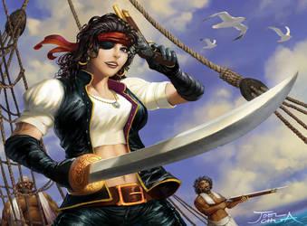 Pirate Girl by JoelChua