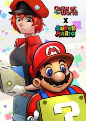 Cells at Work X Super Mario
