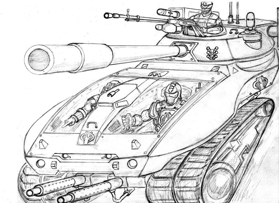 Gi Joe Cobra Hiss Concept by mccoymao on DeviantArt