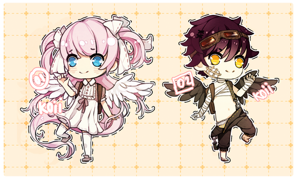3:: Adoptables :: auction [CLOSED!!!]