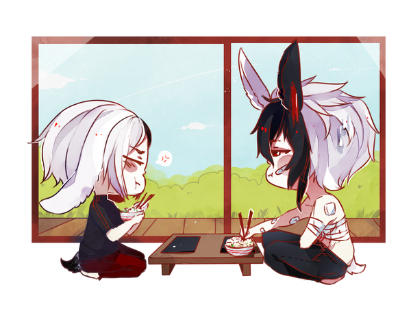 BJBB: sushi break by K0ii