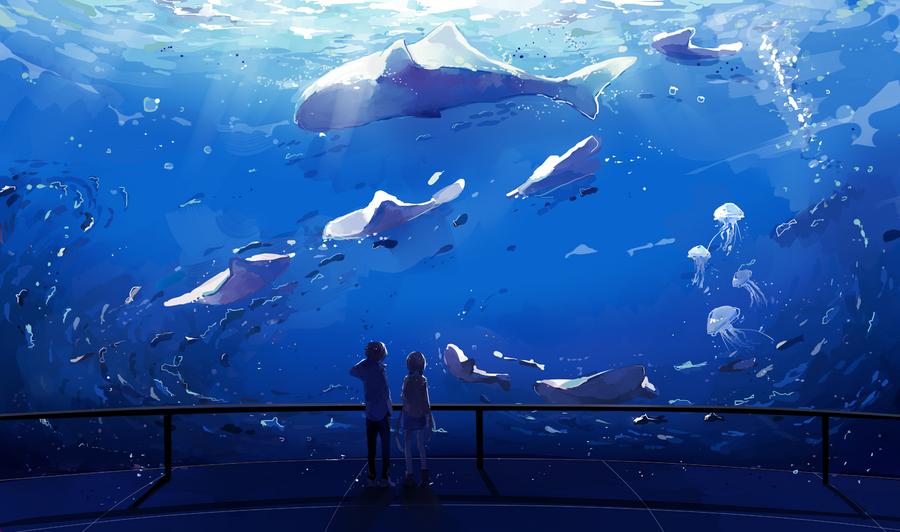 Fascination pour le monde aquatique...[PV Karigan] Aquarium_by_k0ii-d8h7vx0