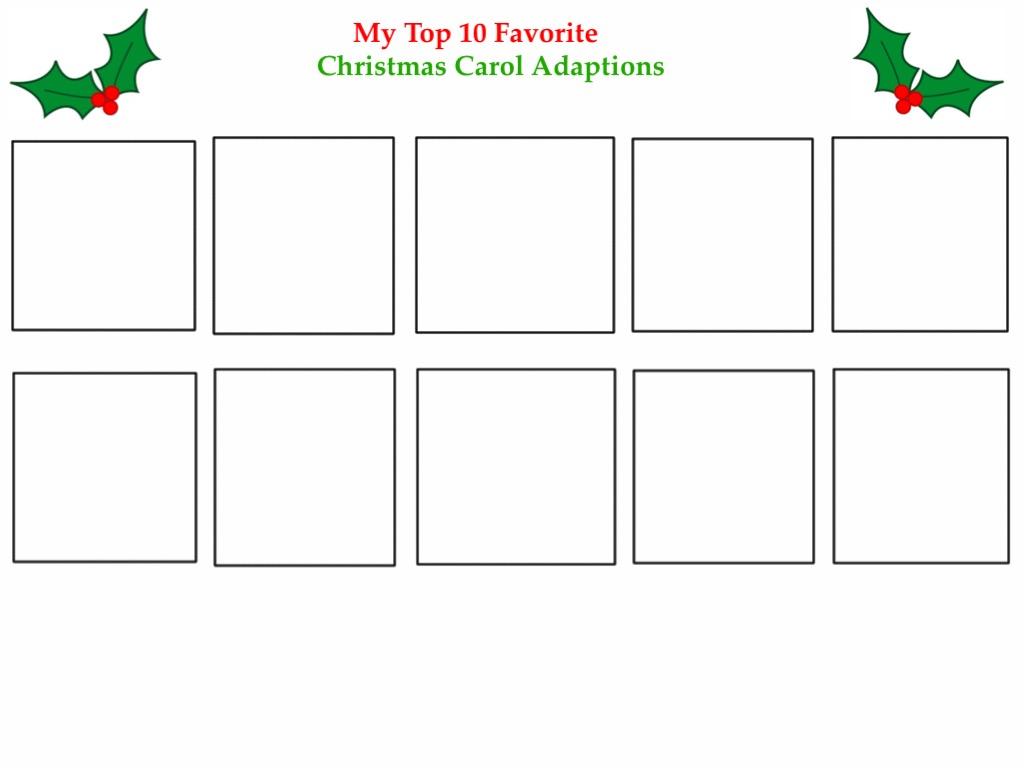 top 10 favorite christmas carol adaptions by jlj16