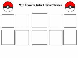 Top Ten Galar Region Pokemon