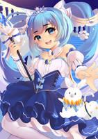 Princess Snow Miku! by RikaRyodo
