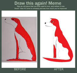 Before and After Meme by Felizias