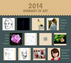 Summary of 2014 by Felizias