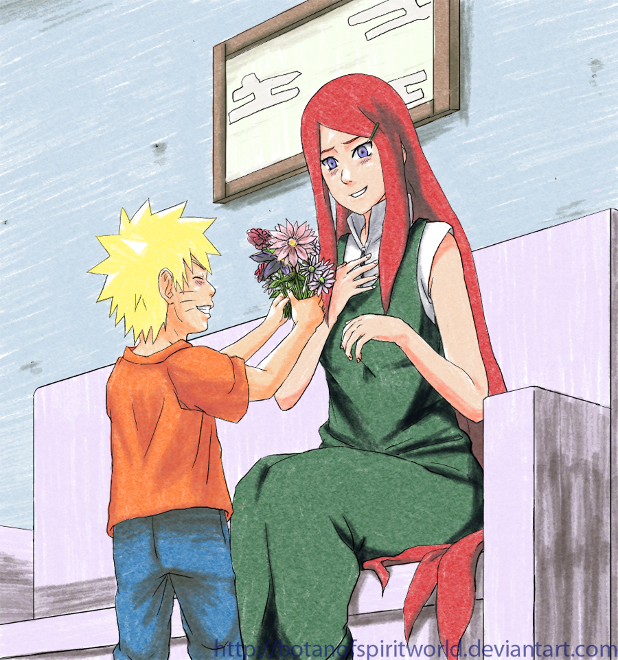 Naruto and Kushina - Mother's Day by BotanofSpiritWorld