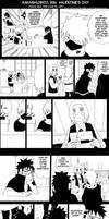 Kakashi,Obito,Rin-Valentine's Day