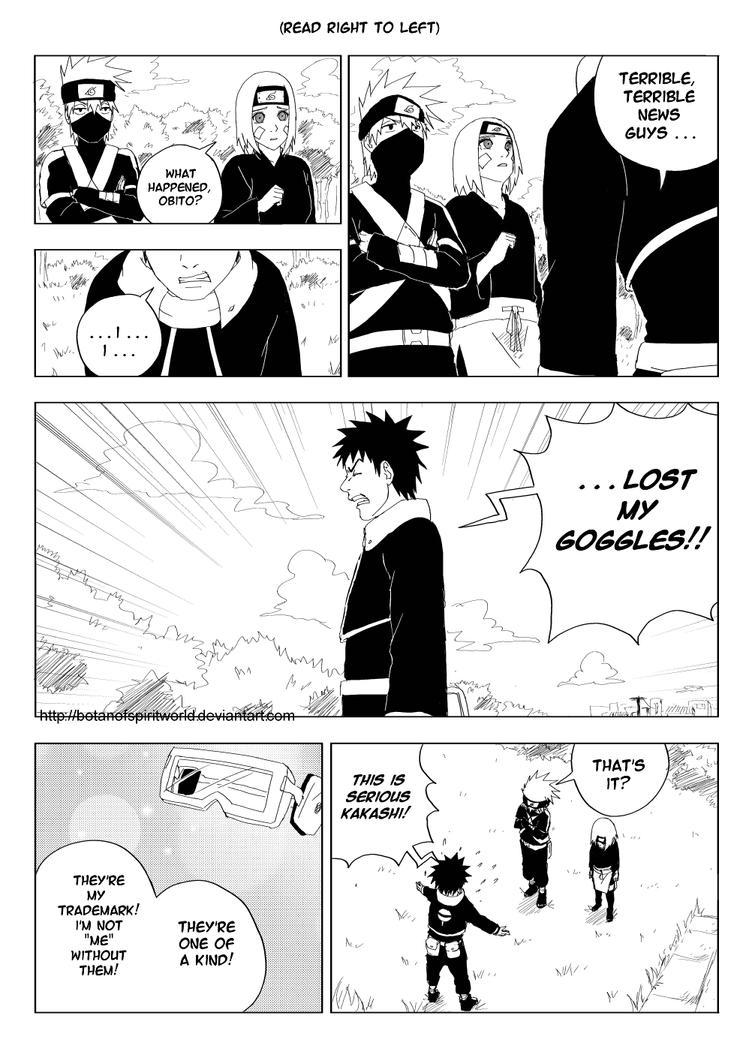 Kakashi Gaiden- One of a Kind Page 1 by BotanofSpiritWorld