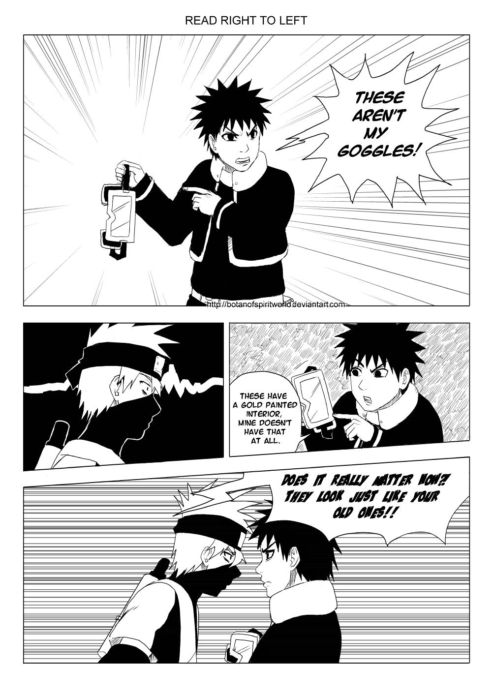 Kakashi Gaiden- One of a Kind Page 11 by BotanofSpiritWorld