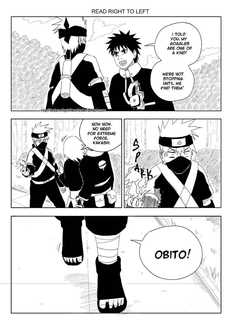 Kakashi Gaiden- One of a Kind Page 12 by BotanofSpiritWorld