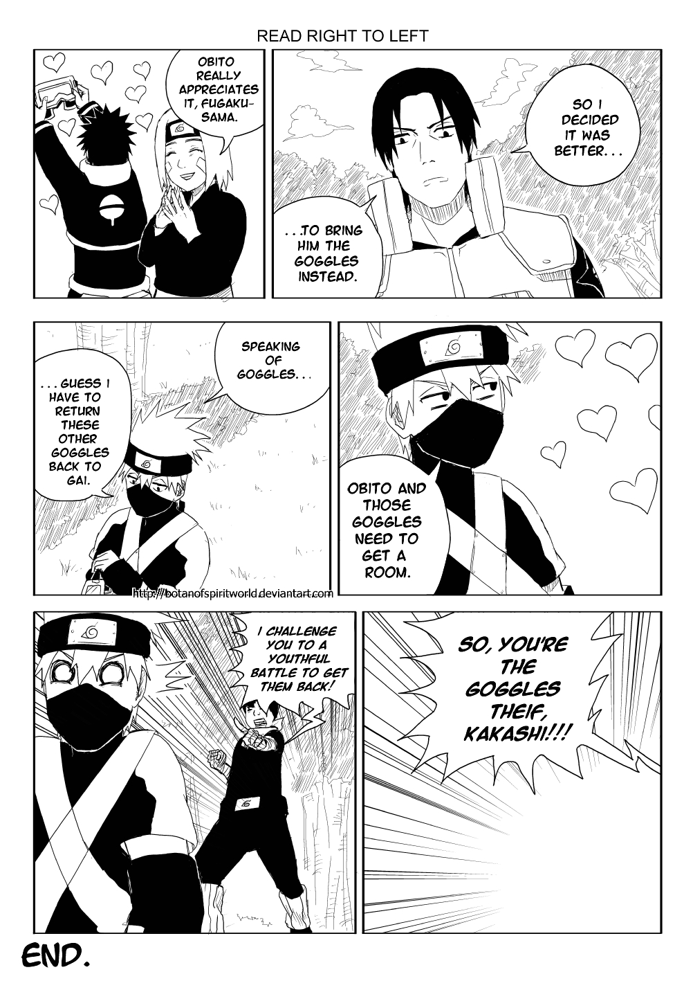 Kakashi Gaiden- One of a Kind Page 14 by BotanofSpiritWorld