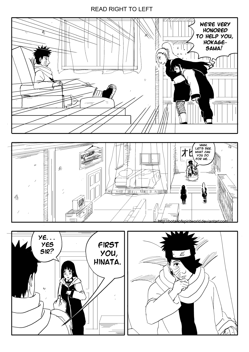 Hokage Dilemma Pg.14 by BotanofSpiritWorld