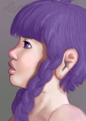 Lavender side