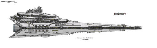 Disruptor class Star Destroyer