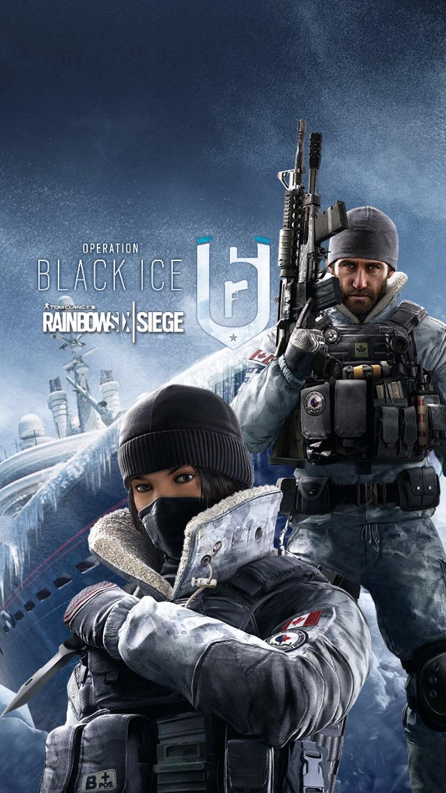 Rainbow Six Siege Black Ice Iphone Wallpaper By Canadianpeacemaker On Deviantart