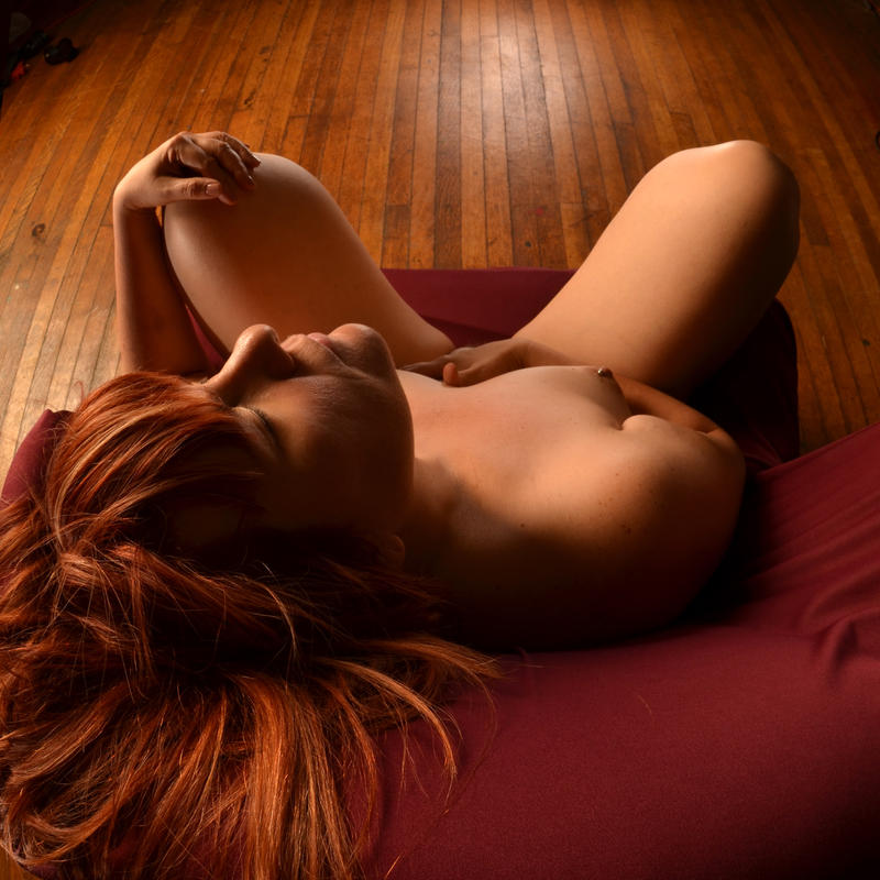 2780-LCW Sensual Redhead Feels Her Power by artonline