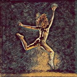 1307s-ZAC_ Nude Dancer's Leap Antonio Bravo Style by artonline