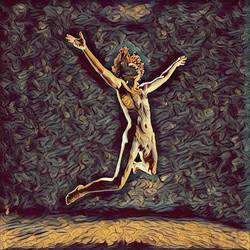 1294s-ZAC_ Nude Dancer's Leap Antonio Bravo St294 by artonline