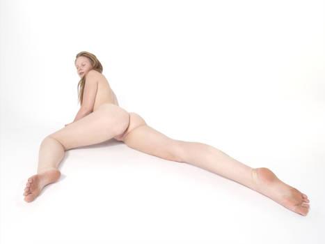2231-PDJ Long Legs on Beautiful Nude RedHead Woman by artonline