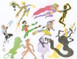 New Mutants vs. Teen Titans