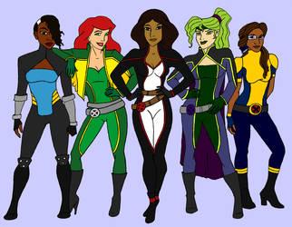 X-Women do Disney I by tapwater86